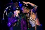 Adam and Terrance during Glam Nation tour show